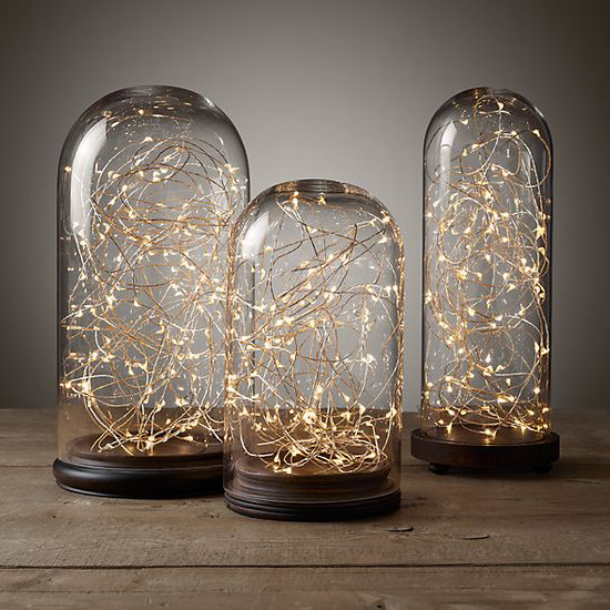 RUSTIC Copper Wire String Lights