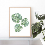 Tropical Leaf Canvas