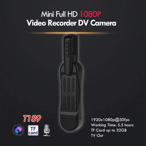 ActionCam™ HD Video and Audio Recorder (50% Off Today Only)