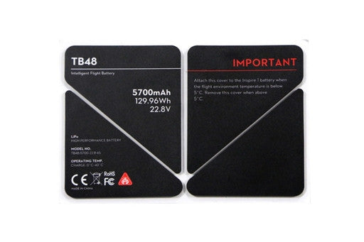 DJI Inspire 1 TB48 Battery Insulation Sticker (Part 51)