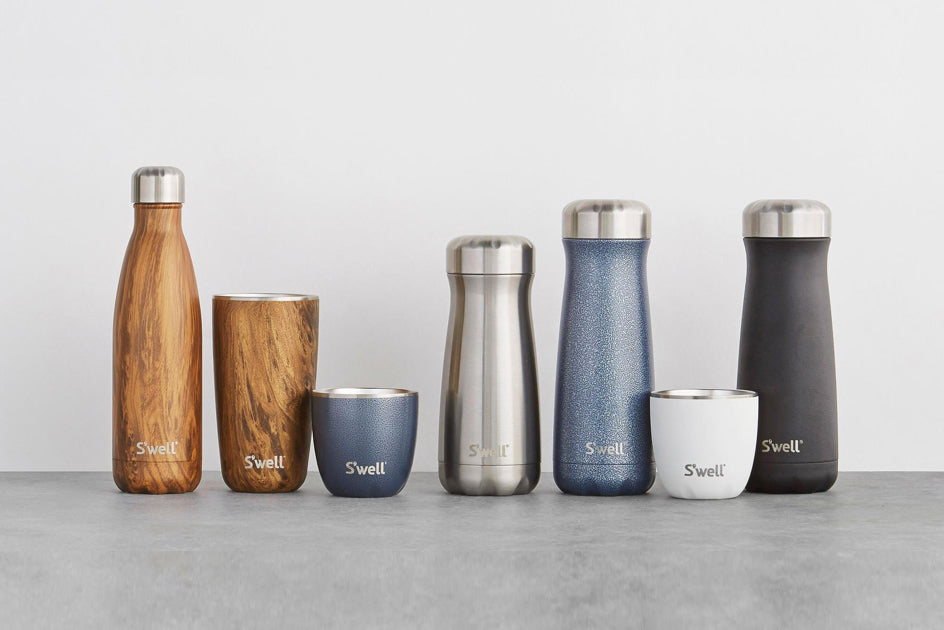 S'well reusable water bottles