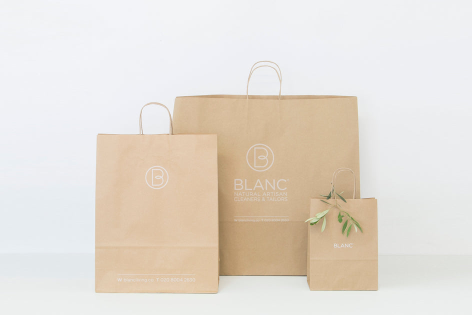 BLANC sustainable packaging