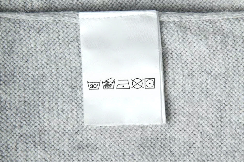 clothing care label