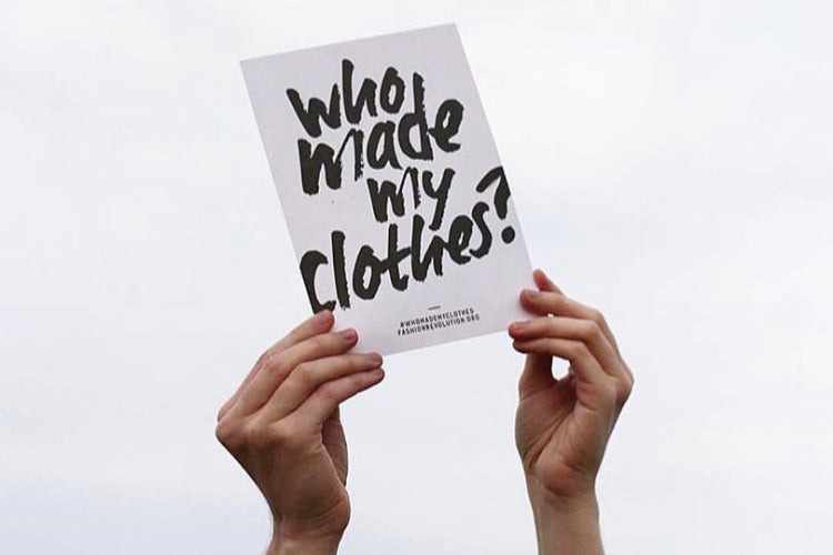 Fashion Revolution Who made my clothes Orsola De Castro Fair Ethical Fashion