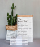 Le Sac En Papier [The Paper Bag]