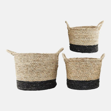 Natural & Black Maize Basket