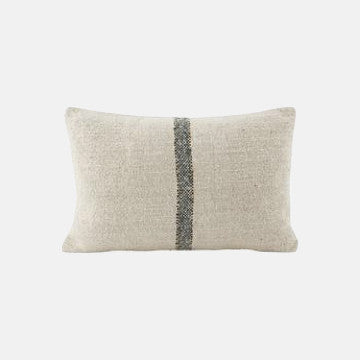 Woven Sweep Cushion with Feather Insert