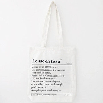 Le Sac En Tissu [The Fabric Bag]