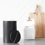 Matt Black Kitchen Jar
