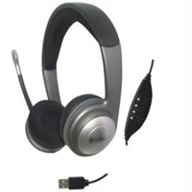 SYBA Headphone CL-CM-5008-U USB Stereo Headset with Microphone