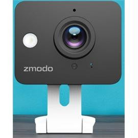 Zmodo Camera ZM-SH75D001-WA Mini WiFi Camera IR Night Vision 4xZoom