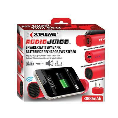 Audiojuice Spk Batterybnk Red