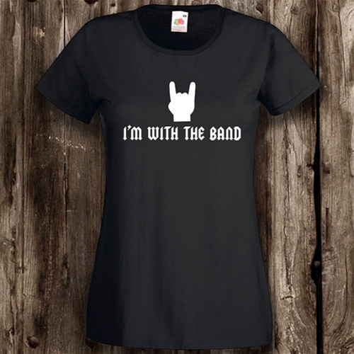I'm With The Band Ladies T-Shirt