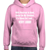 It's Gonna Get Loud Childrens Hoodie