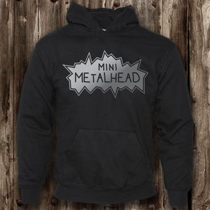 Mini Metalhead Hoodie (Childrens)