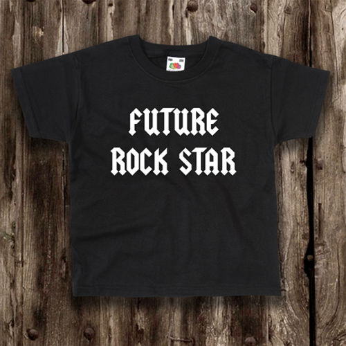 Future Rock Star Childrens T-Shirt