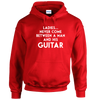 Man And His Guitar Hoodie