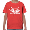 Born And Bred Metalhead Childrens T-Shirt