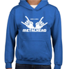 Born And Bred Metalhead Childrens Hoodie