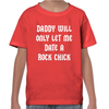 Only Date A Rock Chick Childrens T-Shirt