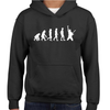Evolution Of The Guitarist Childrens Hoodie