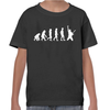 Evolution Of The Guitarist Childrens T-Shirt