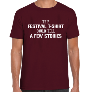 This Festival T-Shirt Could Tell A Few Stories