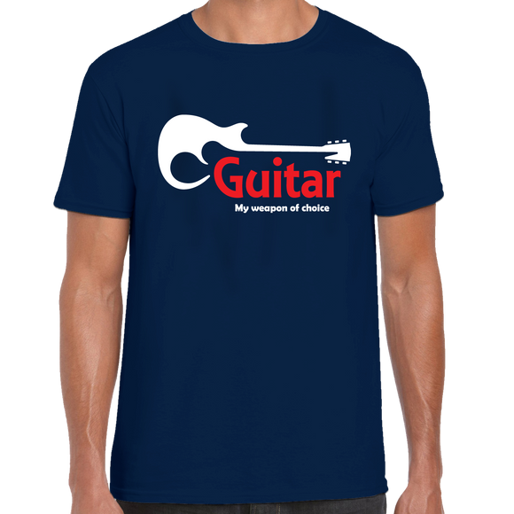 Guitar, My Weapon Of Choice T-Shirt