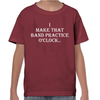 Band Practice O'Clock Childrens T-Shirt