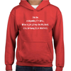 Highway To Hell Childrens Hoodie