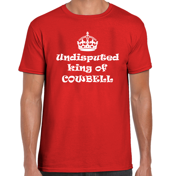Undisputed King Of Cowbell T-Shirt