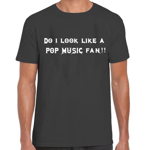 Do I Look Like A Pop Music Fan T-Shirt