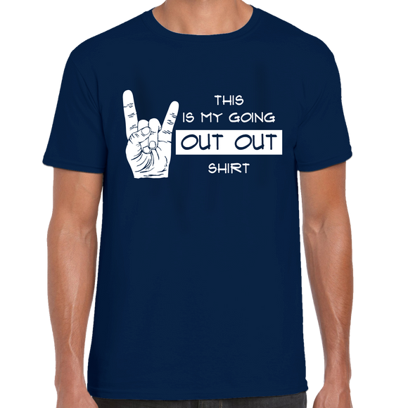 Out Out Rock Horns T-Shirt