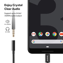 Lecone USB C to 3.5mm Headphone Adapter, Type C to Aux Audio Cable Compatible with Google Pixel 2/Pixel 3/XL/iPad Pro 2018, Essential Phone and More