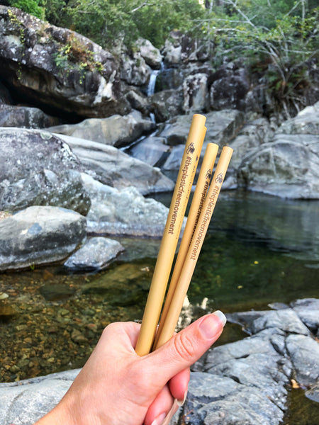 Bamboo Straws Waterfall The Plastic Free Movement