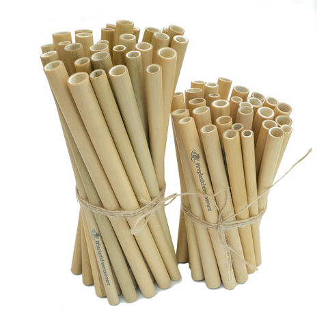 Ready to Ship Bamboo Straw Bundles