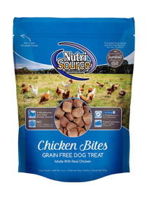 Tuffy's Nutri Source Grain Free Chicken Bites Dog Treats