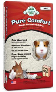 Oxbow Pure Comfort - White Animal Bedding For Small Animals