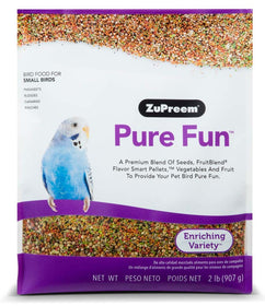 ZuPreem Pure Fun Bird Food for Small Birds