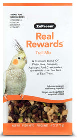 ZuPreem Real Rewards Trail Mix Medium Bird Treats