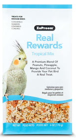ZuPreem Real Rewards Tropical Mix Medium Bird Treats