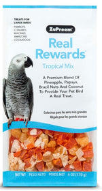 ZuPreem Real Rewards Tropical Mix Large Bird Treats