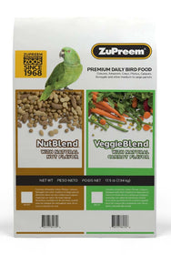 ZuPreem NutBlend Flavor Parrots and Conure