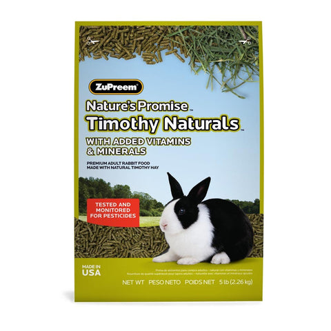 ZuPreem Nature's Promise Rabbit Pellets - Rabbit Food