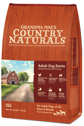 Grandma Mae's Country Naturals Premium All Natural Adult Dog Sensitive Stomach Entrée Dry Dog Food