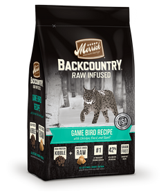 BackCountry Raw Infused Game Bird Recipe cat food