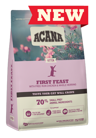 Acana® First Feast Dry Cat Food
