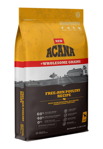 Acana® Free-Run Poultry Recipe with Wholesome Grains Dry Dog Food
