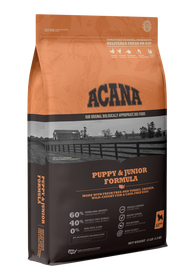 ACANA Puppy & Junior Formula with Fresh Free-Run Turkey & Chicken, Wild-Caught Fish & Cage-Free Eggs Dry Dog Food