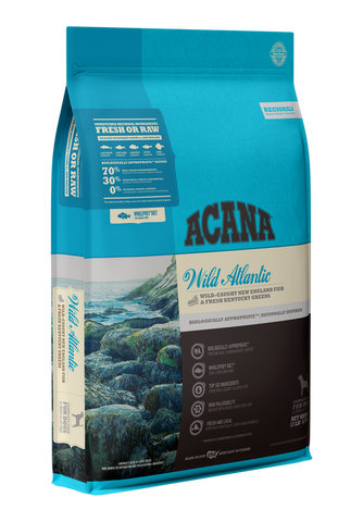 ACANA Regionals Wild Atlantic with Wild New England Fish & Fresh Kentucky Greens Dry Dog Food